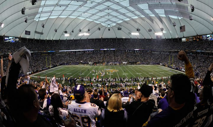 O Grande Desafio do U. S. Bank Stadium, replicar os ruídos do Metrodome.
