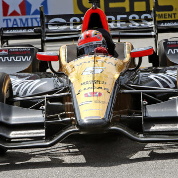 James Hinchcliffe vence o GP de Long Beach