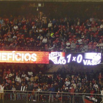 Brasileirão: Ouça o único gol de São Paulo 1 X 0 Vasco