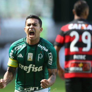 Brasileirão: Ouça os gols de Palmeiras 4 X 2 Vitória
