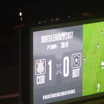 Brasileirão: Ouça o único gol de Corinthians 1 X 0 Botafogo