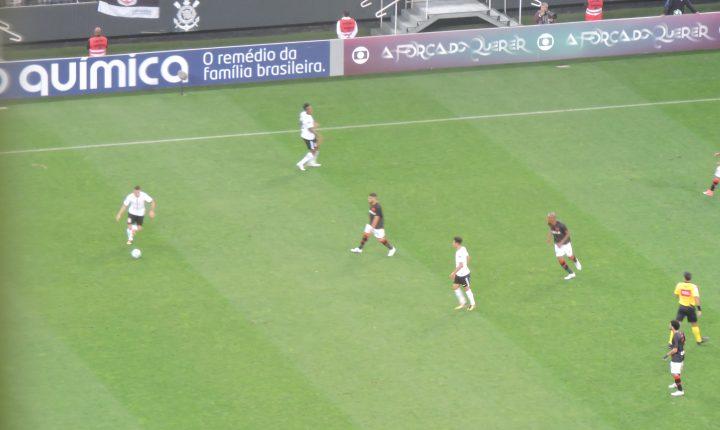 Brasileirão: Alvi-negro chegou a virar, mas a partida ficou no 2 a 2