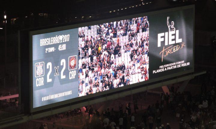 Brasileirão: Ouça os gols de Corinthians 2 X 2 Atético Paranaense