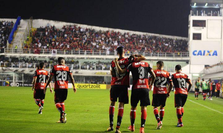Copa do Brasil: Ouça os gols de Santos 4 X 2 Flamengo