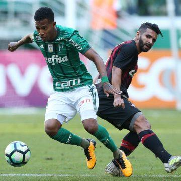 Brasileirão: Ouça o gol de Palmeiras 0 X 1 Atlético-PR