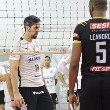 Campeonato Paulista Masculino de Vôlei: Ouça os momentos finais de Sesi SP 3 X 1 Corinthians Guarulhos