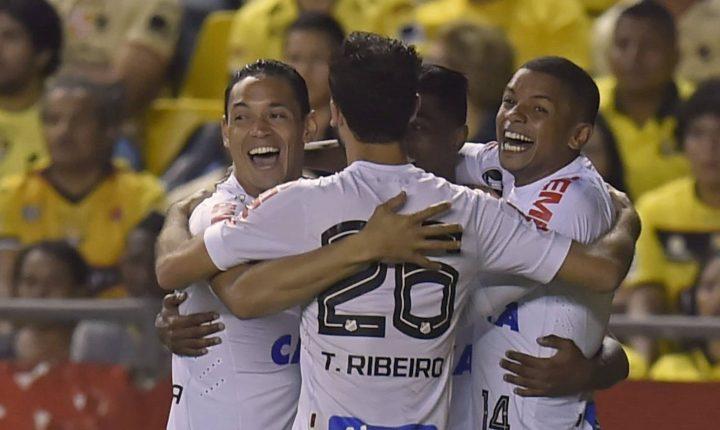 Libertadores: Ouça os gols de Barcelona-EQU 1 X 1 Santos