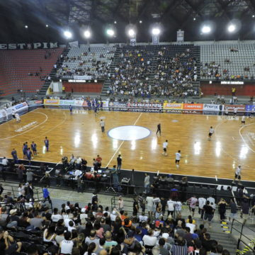 Semifinal da Liga Paulista de Futsal: Ouça momentos da transmissão de Corinthians e AABB
