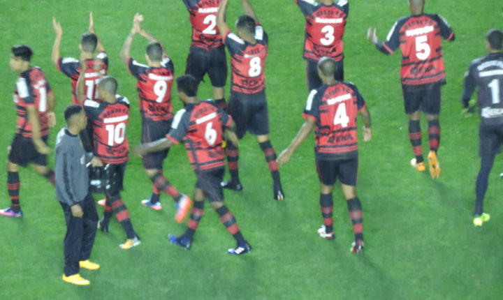 Campeonato Brasileiro Série B 2017 – 32ª Rodada: Ouça o único gol de Oeste 1 X 0 Brasil-RS