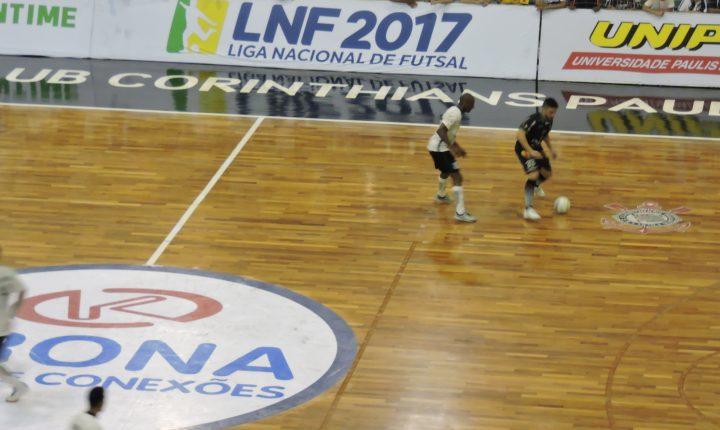 Marreco vence Corinthians e é semifinalista da Liga Nacional de Futsal