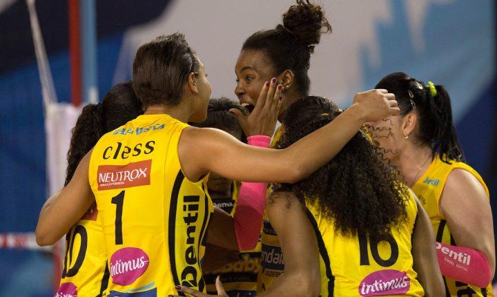 Superliga feminina de vôlei 2017/2018 – Ouça os momentos finais de EC. Pinheiros 0x3 Dentil/Praia Clube (MG)