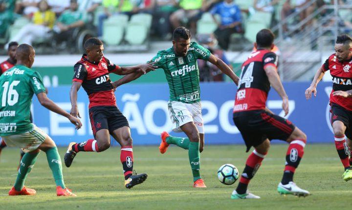Brasileirão 2017 – 34ª Rodada: Ouça os gols e entrevistas de Palmeiras 2 X 0 Flamengo