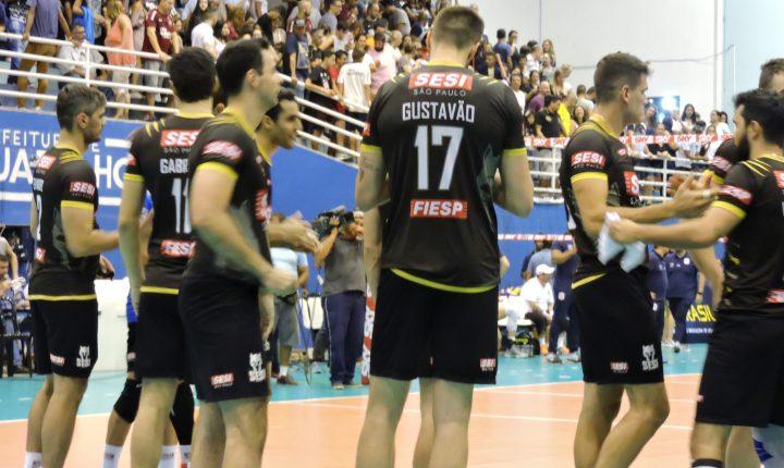 SESI-SP recebe o EMS Taubaté Funvic na Superliga Masculina de Vôlei 17/18
