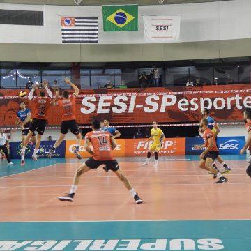 Superliga Masculina 2017/2018 – Ouça os momentos finais e entrevistas de SESI-SP 3 x 1 SESC-RJ