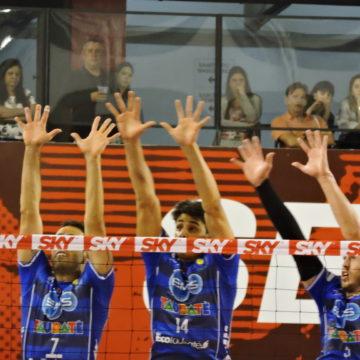 Em jogo equilibrado, EMS Funvic Taubaté vence clássico contra o SESI pela Superliga
