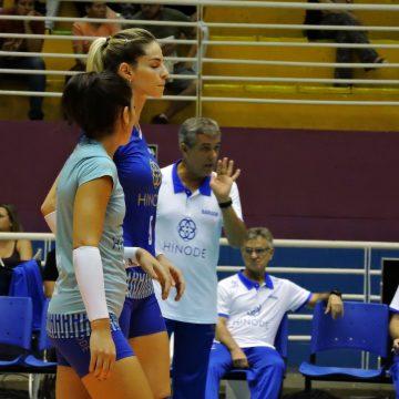 Superliga Feminina de Vôlei – 2017-2018: Ouça os momentos finais e as entrevistas de Hinode Barueri 3 X 0 São Cristóvão Saúde São Caetano