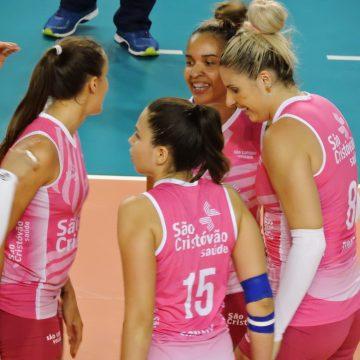 Superliga Feminina de Vôlei – 2017-2018: Ouça os momentos finais e as entrevistas de Pinheiros 2 X 3 São Cristóvão Saúde São Caetano