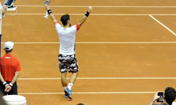 ATP 250 Brasil Open: Ouça os momentos finais da final entre Nicolas Jarry – CHI 1 X 2 Fabio Fognini – ITA
