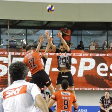 Sesi-SP e Corinthians decidem vaga na grande final do Paulista de Vôlei