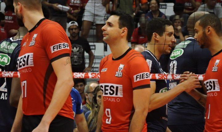 Vale o título! Sada Cruzeiro e SESI-SP se enfrentam no Mineirinho