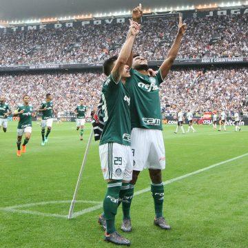 Paulistão 2018 – Final – 1º jogo: Ouça o gol de Corinthians 0 X 1 Palmeiras