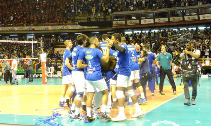É hexa! Sada Cruzeiro se sagra campeão da Superliga Masculina
