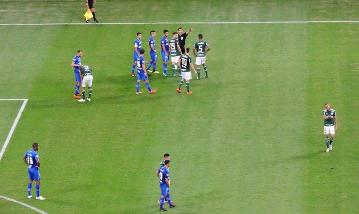 Cruzeiro vence Palmeiras no Allianz e se fica perto da final da Copa do Brasil