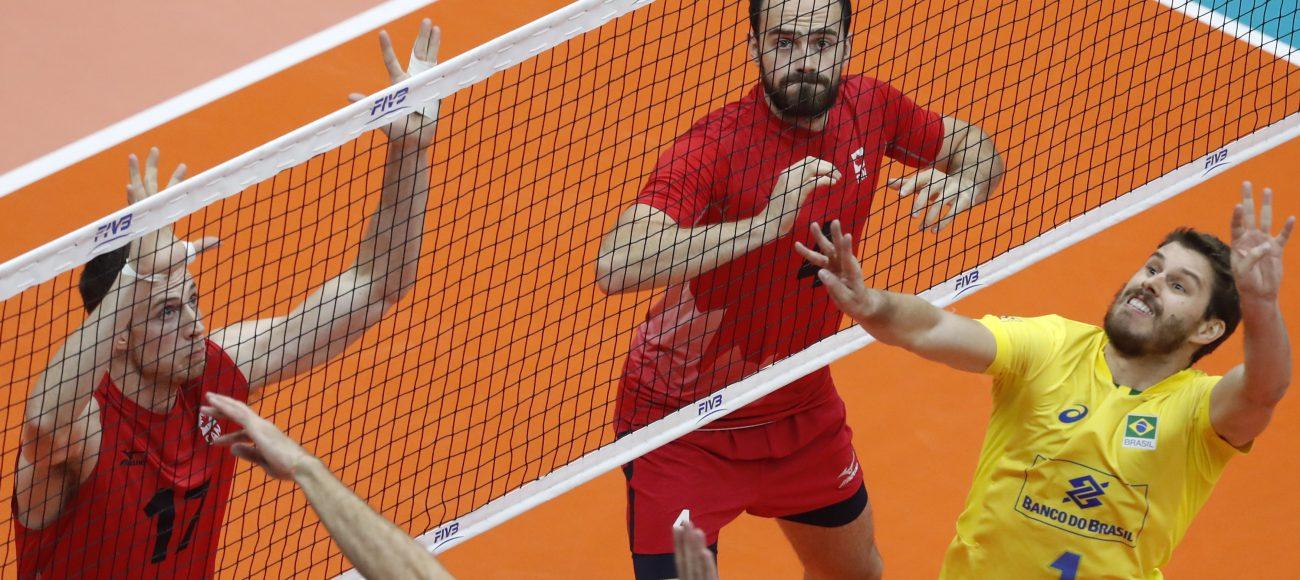 Boletim Jornada do Vôlei: Vitória do Brasil sobre o Canadá no Mundial de Vôlei Masculino