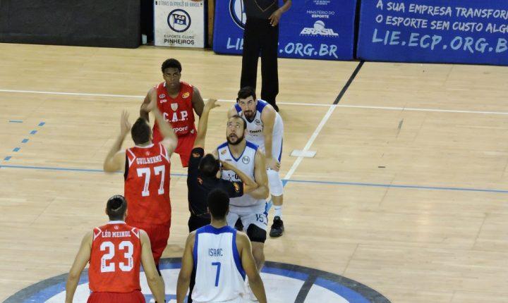 Paulista de Basquete – Semifinal – Jogo 1: Ouça os momentos finais de Pinheiros 68 X 85 Paulistano