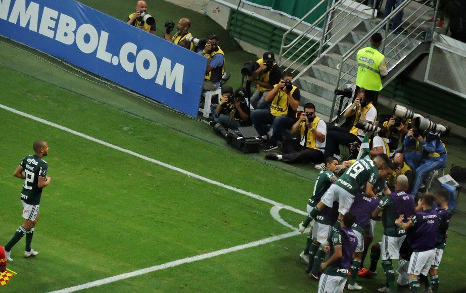Libertadores 2018 – Quartas de final: Gols de Palmeiras 2 X 0 Colo-Colo