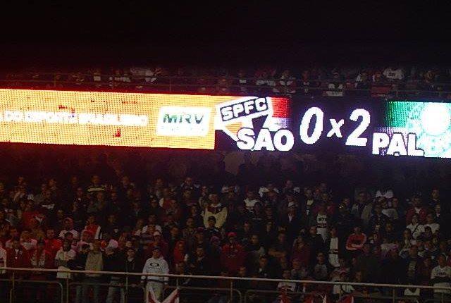 Brasileirão 2018: Ouça os gols e as entrevistas pós-jogo de São Paulo 0 x 2 Palmeiras