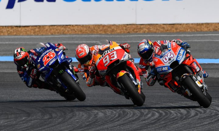 MotoGP: Na estreia da Tailândia, disputa pela vitória até a última curva e vitória de Marc Márquez