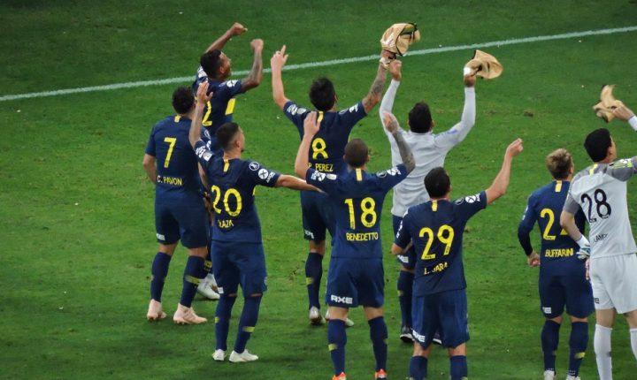 Palmeiras empata com o Boca Juniors e se despede da Libertadores