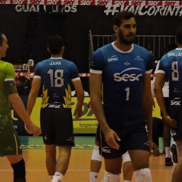 Superliga: SESC Rio conquista terceira vitória e Corinthians sofre quarta derrota