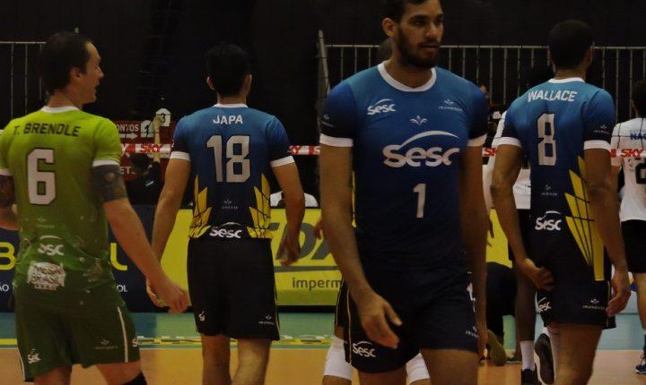 Superliga Masculina: SESI-SP e SESC-RJ mantêm invencibilidade e lideram a competição