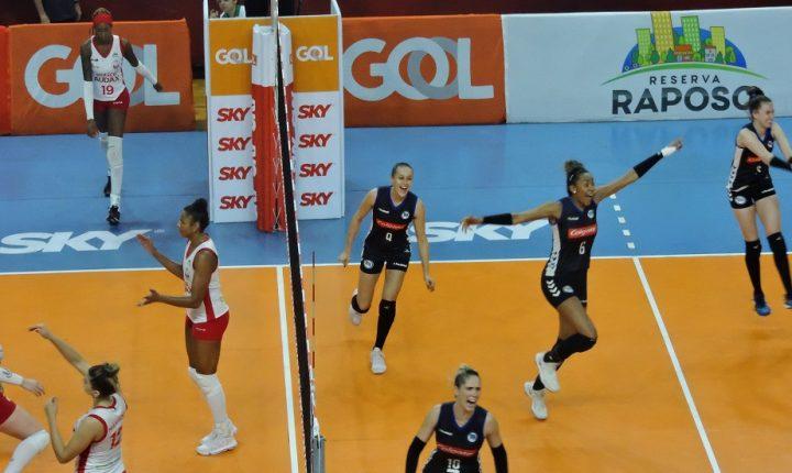 Superliga Feminina – 2018-2019: Ouça os momentos finais e entrevistas de Osasco Audax 2 X 3 Pinheiros