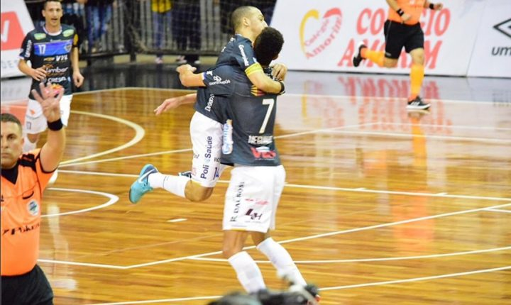 Liga Futsal 2018 – Ouça os gols e as entrevistas pós-jogo de Corinthians 1 x 1 Pato Futsal/PR