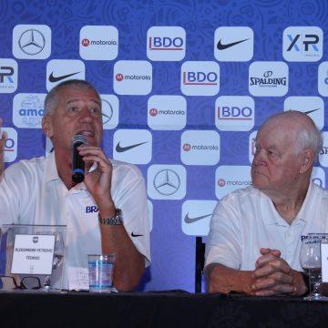 Basquete: Aleksandar Petrovic anuncia convocados para os jogos contra República Dominicana e Canadá