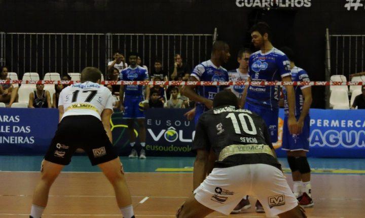 Superliga Masculina – 2018-2019: Ouça os momentos finais e entrevistas de Corinthians Guarulhos 0 X 3 EMS Taubaté Funvic