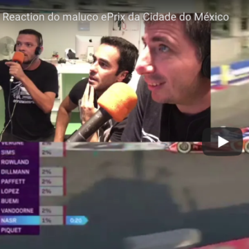 Reaction do maluco ePrix da Cidade do México