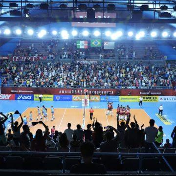 Superliga Feminina de Vôlei 2018 2019 – Returno – 5ª rodada – Momentos finais de Osasco Audax 3 X 0 Hinode Barueri