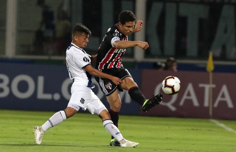 Gols de Talleres 2 x 0 São Paulo – Fase Pré-Libertadores da América