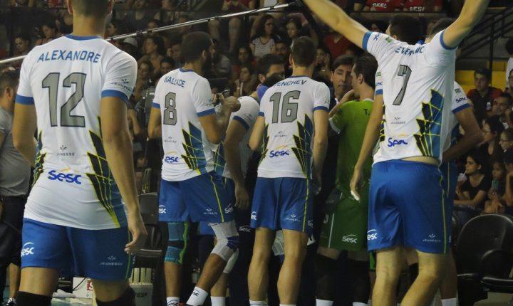 SESC-RJ se reforça bem para a temporada do vôlei