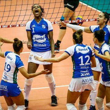 Superliga Feminina – 2018-2019 – Final – 2º Jogo: Ouça os momentos finais de Praia Clube 1 X 3 Minas