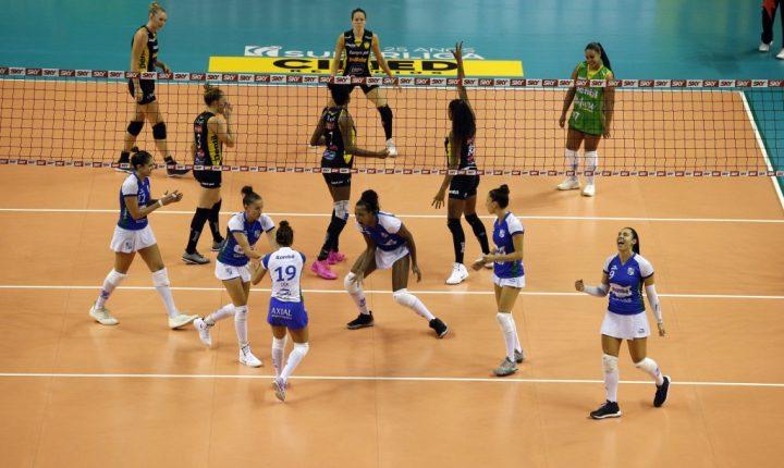 Superliga Feminina – 2018-2019 – Final – 1º Jogo: Ouça os momentos finais de Minas 3 X 2 Praia Clube
