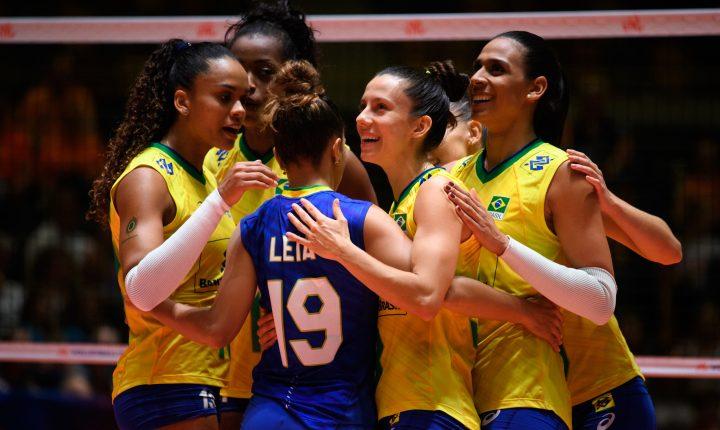 Sem sustos, Brasil vence com facilidade a Bulgária