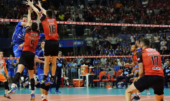 Superliga Masculina – 2018-2019 – Final – Jogo 5: Ouça os momentos finais de SESI-SP X Taubaté