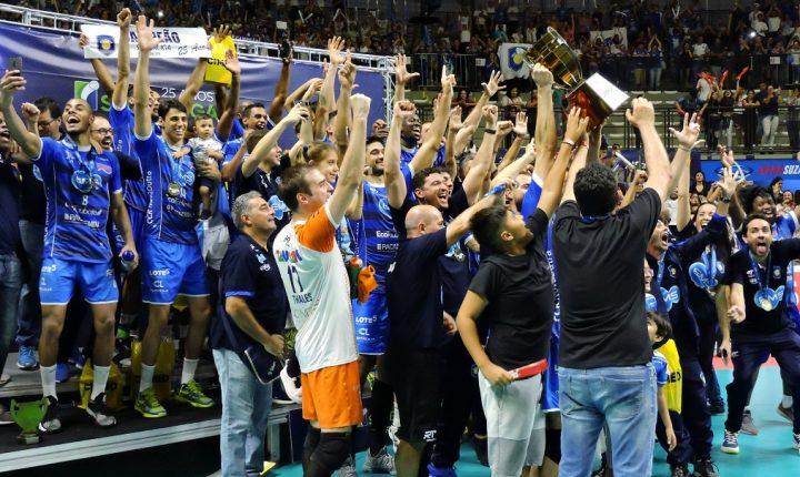 Na base da emoção, Taubaté é campeão pela primeira vez da Superliga Masculina