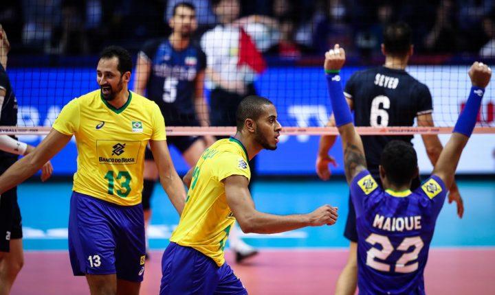 No duelo de invictos, Brasil vence o Irã