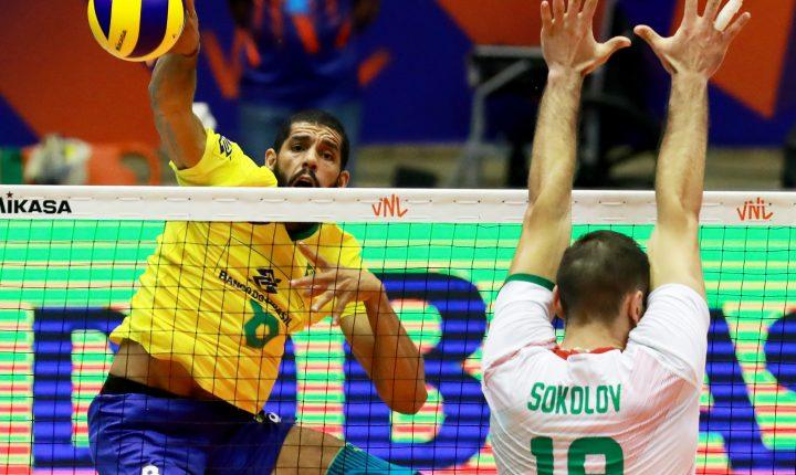 Brasil começa com pé direito em casa e vence Bulgária